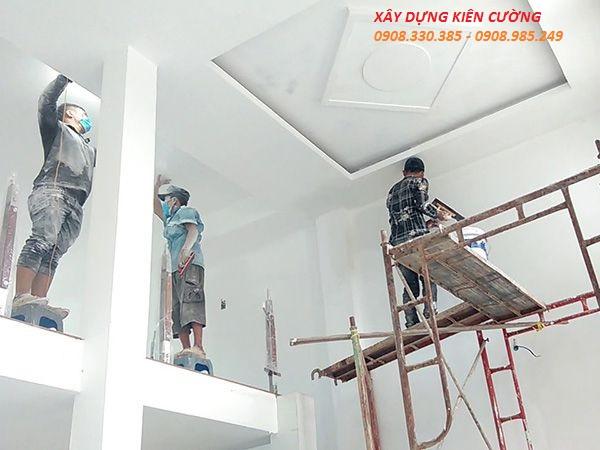 thợ thi công trần thạch cao tại hcm