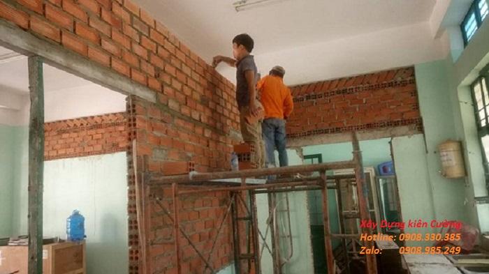 Thợ sửa chữa nhà trọn gói ở hcm