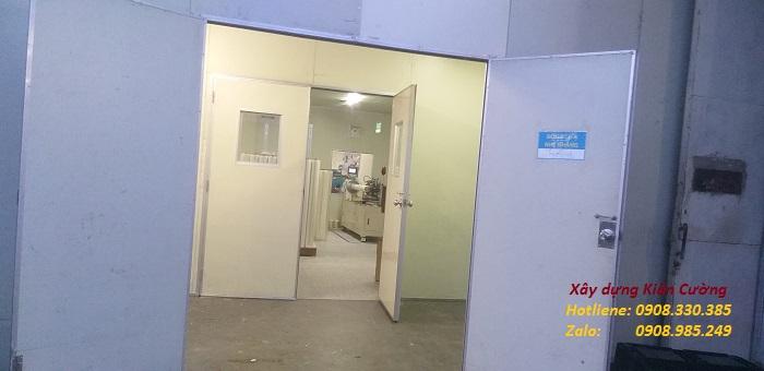 Làm vách ngăn panel cách nhiệt nhà xưởng ở hcm
